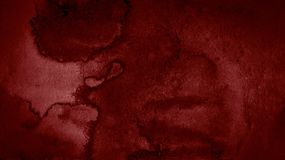 Free Dark Red Watercolor Abstract Background, Stain, Splash Of Paint, Stain, Divorce. Alarming, Blood Red Gradient Stock Photography - 131506472