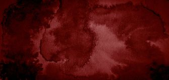 Free Dark Red Watercolor Abstract Background, Stain, Splash Of Paint, Stain, Divorce. Alarming, Blood Red Gradient Royalty Free Stock Images - 131506639