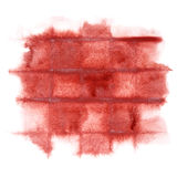 Dark red watercolor background Royalty Free Stock Image