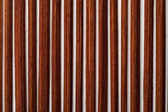 Dark reddish bamboo texture collection of vegetal and natural fibers. royalty free stock photography