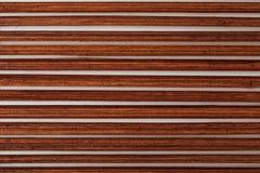 Dark reddish bamboo texture. royalty free stock images
