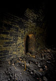 Dark refuge Railway Tunnels Royalty Free Stock Photography