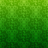 Dark repeating pattern in vintage style Stock Images
