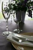 Dark Restaurant Stock Photo