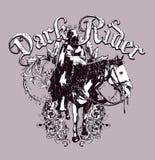 Dark rider design  Royalty Free Stock Photos