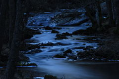 Dark river Royalty Free Stock Images