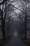 Dark road Royalty Free Stock Photos