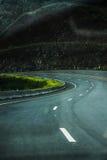 Dark road Stock Photos