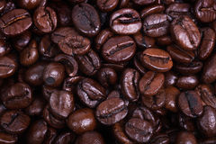 Dark roast coffee Stock Images