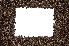 Dark Roast Coffee Bean Frame Stock Images
