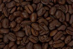 Dark Roaste Coffee Beans stock images