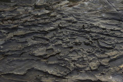 Dark rock texture. Stone background Stock Photography