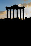 Dark Roman Forum Stock Images