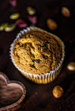 Dark romantic muffin set Royalty Free Stock Image