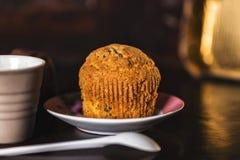 Dark romantic muffin set Stock Photography