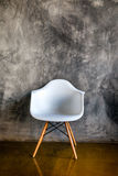 Dark room with armchair in modern style Stock Photography