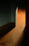 Dark Room With Open Door Stock Photos