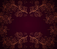 Dark roses background Royalty Free Stock Photography