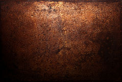 Dark rust background. Or texture Stock Photography