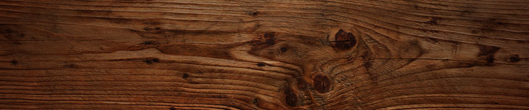 Dark rustic wooden board Royalty Free Stock Image