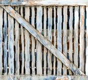 Dark rustic wooden planks background Royalty Free Stock Images