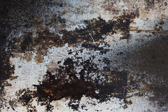 Dark rusty metal texture. Rusty surface. background. Old tinned surface. Close-up Stock Photo