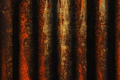 Dark rusty steel Royalty Free Stock Photography