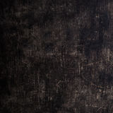 Dark scratched grunge wooden board. Black Wood texture. Royalty Free Stock Photography