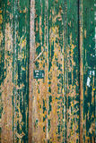 Dark scratched grunge Wooden textured wall. Old wood texture wit Stock Photography