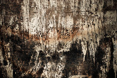 Dark scratched wall texture Royalty Free Stock Images
