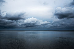 Dark sea. Royalty Free Stock Photos