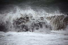 Dark sea wave Royalty Free Stock Photos