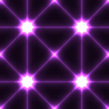 Dark seamless background with violet conected points Royalty Free Stock Images
