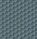 Dark seamless hexagon pattern background Royalty Free Stock Image
