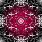 Dark seamless pattern Royalty Free Stock Image