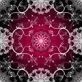 Dark seamless pattern Royalty Free Stock Image