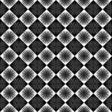 Dark seamless pattern. Dark seamless inverted patterns in black and white color Stock Photos
