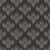 Dark seamless structure in the Victorian style Royalty Free Stock Photos