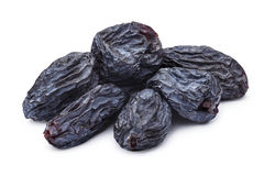 Dark seedless raisins Royalty Free Stock Photo