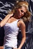 Dark sheets Royalty Free Stock Photography