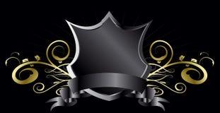Dark shield Royalty Free Stock Photography