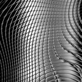 Dark silver metal checked background Stock Photo