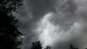 Dark skies Royalty Free Stock Image