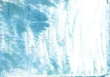 Dark sky blue abstract watercolor background Royalty Free Stock Photos