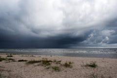 Dark sky. Royalty Free Stock Photography