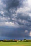 Dark sky. Stock Image