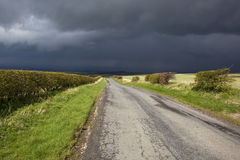 Dark sky landscape Royalty Free Stock Photos