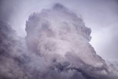 Dark sky before storm, background. royalty free stock images