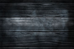 Dark smoky wooden border wall eith space for text Stock Photography