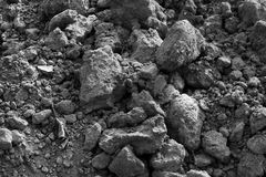 Dark soil Royalty Free Stock Photo